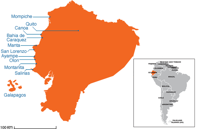 Ecuador - Country map image