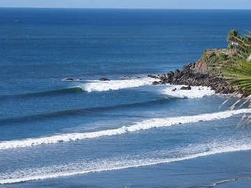 Surfing El Salvador