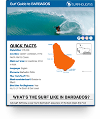 Barbados Surf Guide