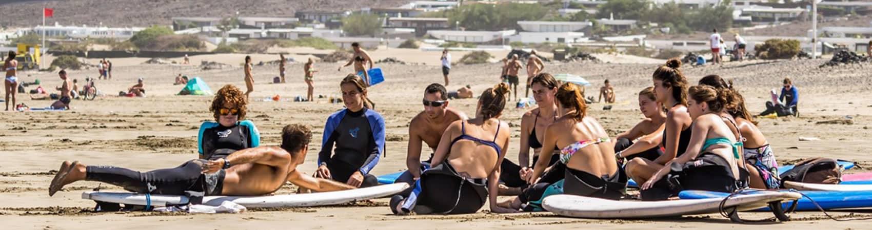 Surf Holidays in Lanzarote