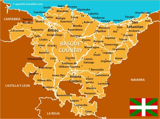 Basque France Map.Surf Blog History Of The Basque Country
