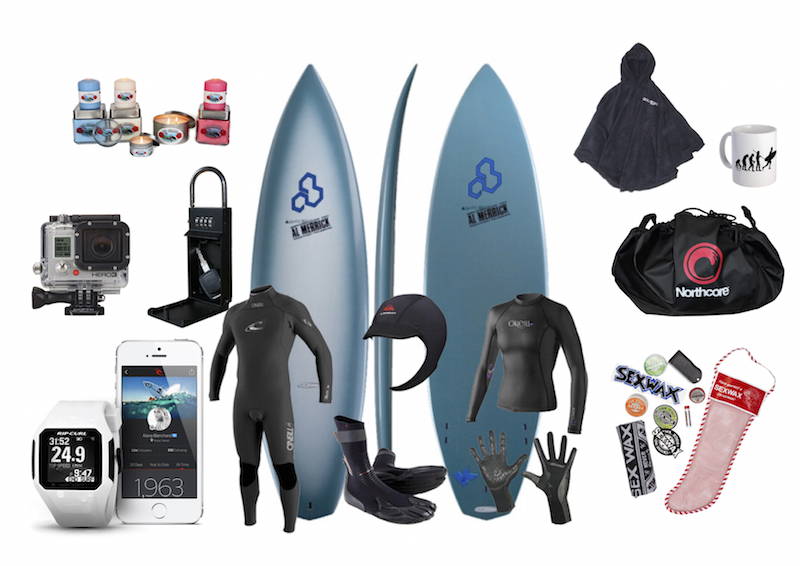 with less than a week to go to christmas day you will be forgiven for asking for some last minute inspiration for gifts for the surfers in your life
