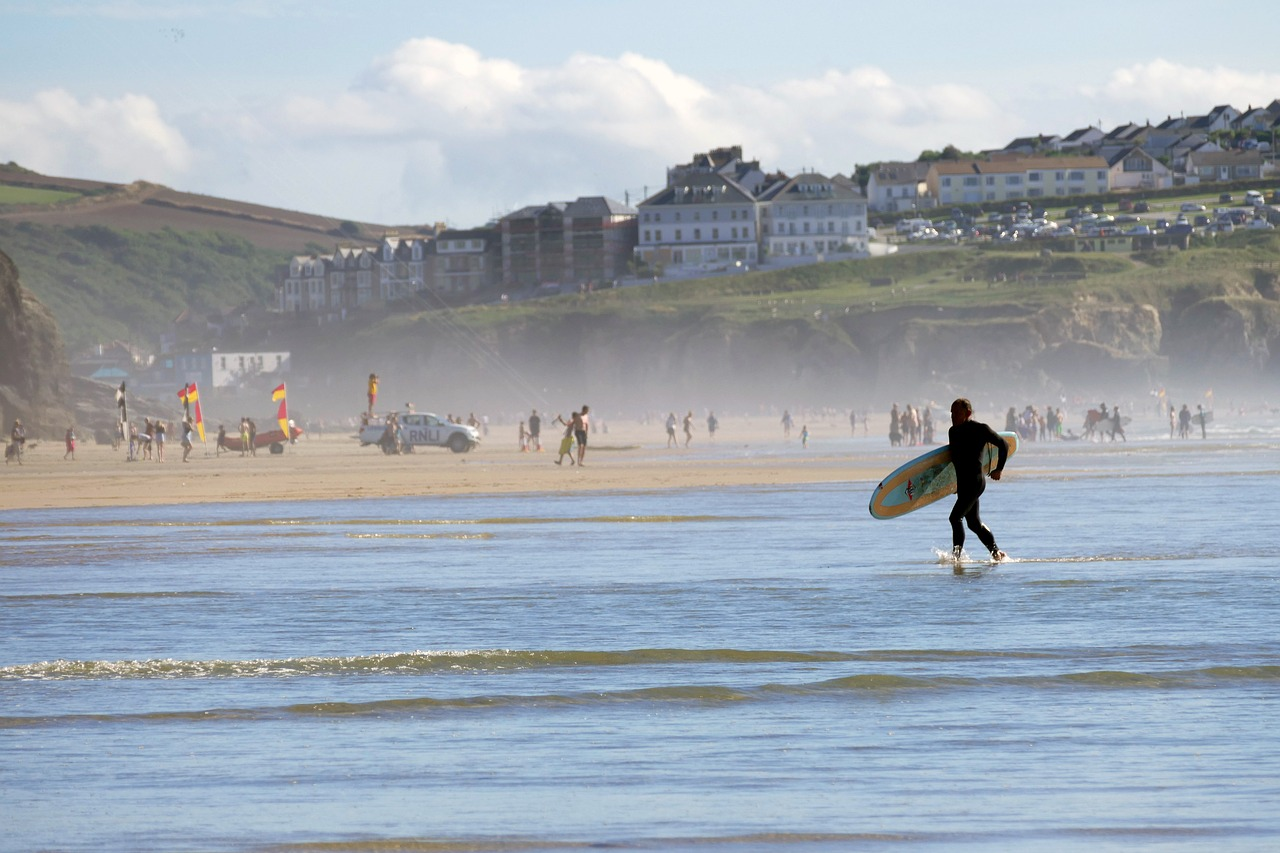 Best Beginner Surf Beaches - England