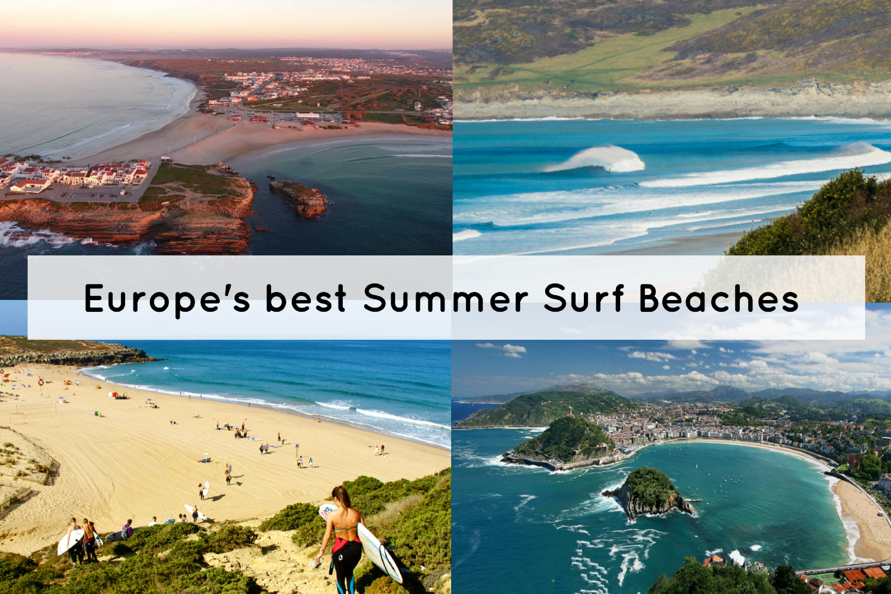 Top 7 Summer Surf Beaches in Europe