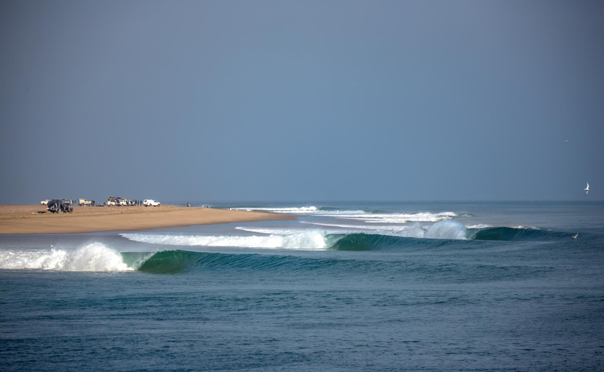 Legendary Surf Spots: Skeleton Bay, Namibia