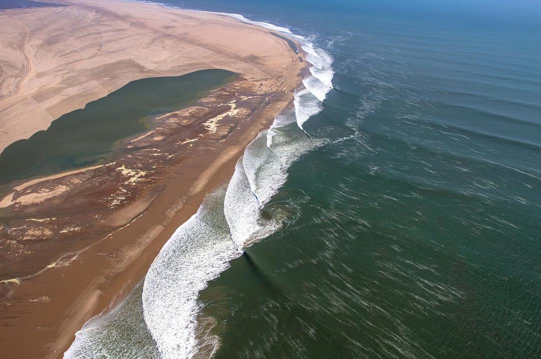 Surf Blog - Legendary Surf Spots: Skeleton Bay, Namibia