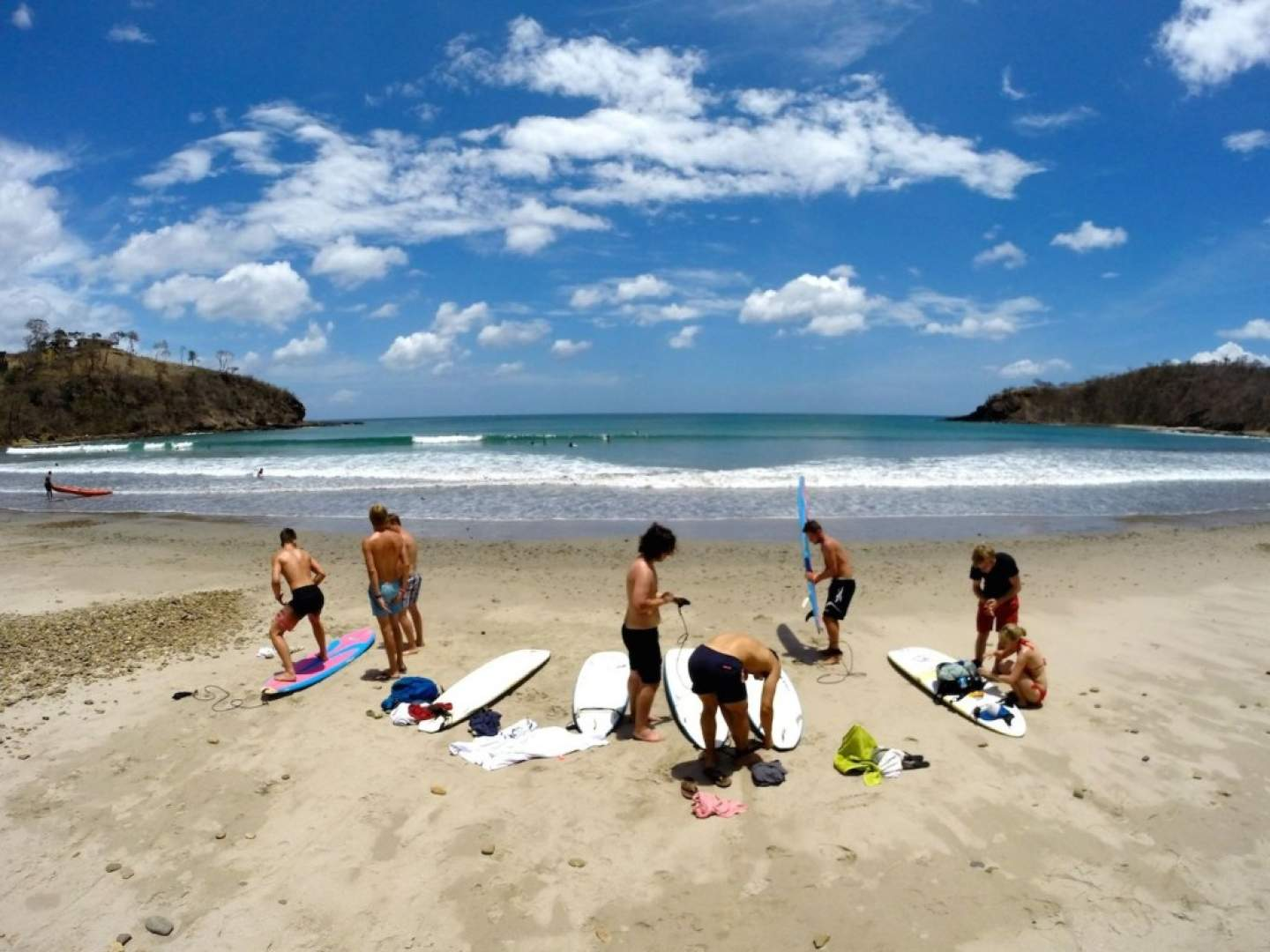Remanso Beach Is A 15minute Drive From San Juan Del Sur And The Perfect Spot To Head For Natural Scenic Beauty Quiet Waves
