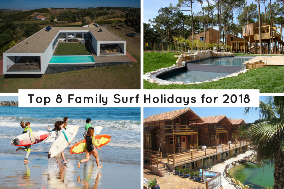 Top 8 Family surfing holiday options in Portugal 2019
