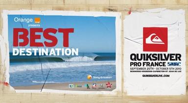 History of the Quiksilver Pro France