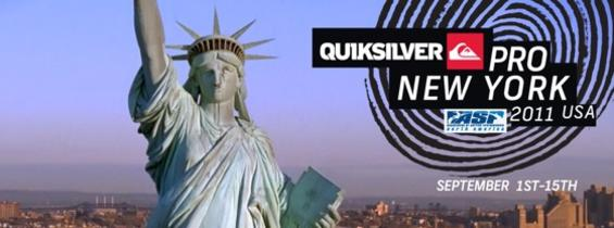 Quiksilver Pro New York Preview