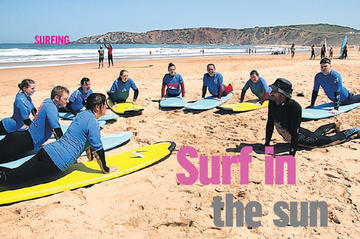 Irish Times on a surf holiday in Portugal