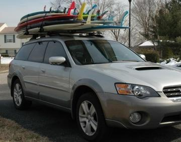 How to Strap a Surf Board to Your Car
