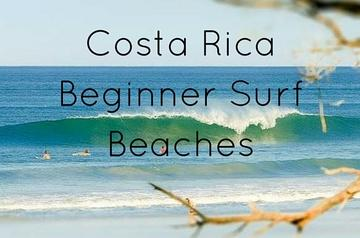 Top 5 Beginner Surf Beaches in Costa Rica