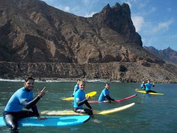 Top 5 beginner surf beaches in Tenerife