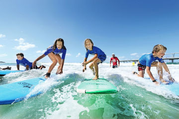 The Best Child Friendly Surf Locations