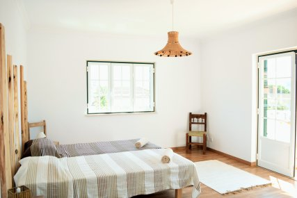 Double room with private terrac