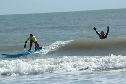 Ireland  Kids Surf Lessons at The Surf Shack, Curracloe Beach.