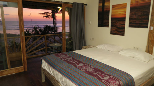 Double Bed with sea view