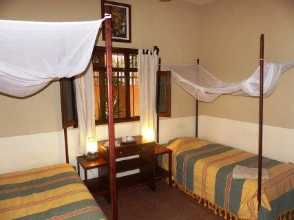 two singel beds