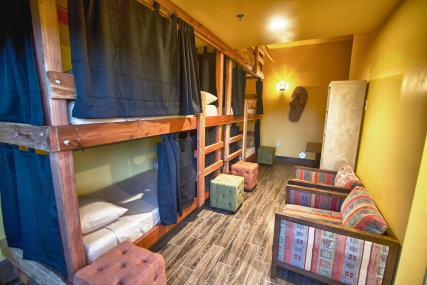 7 oversized custom bunks