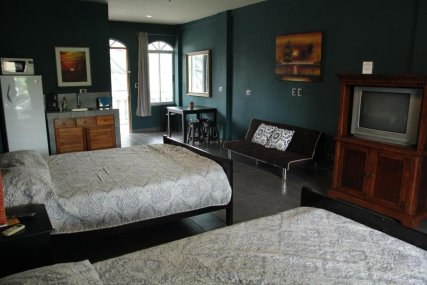 Suite with living area #9