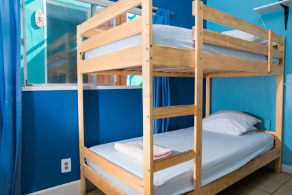 Eight bed female dorm