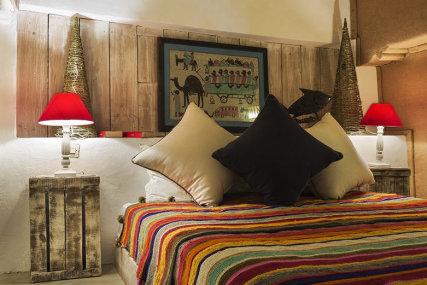 Mezzanine bedroom.