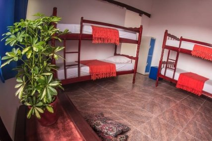Four bunks beds with private bathroom