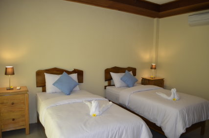 Large spacious bedrooms.
