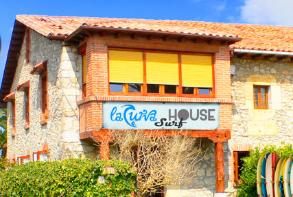 Surf house front
