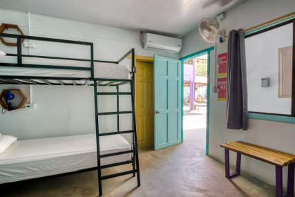 Bed in 6 Bed Community Room