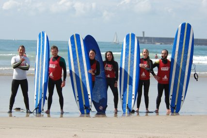 Portugal  Surf lesson group