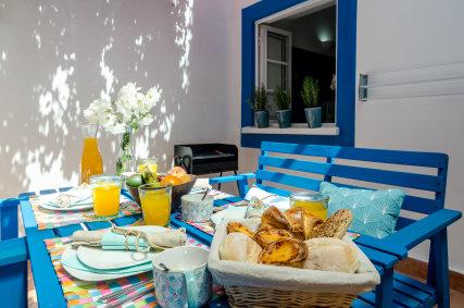 Casa da Praia Algarve - Lagos Courtyard. Casa da Praia Algarve