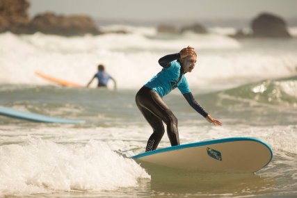 Surfschool 6-12 years + Parents