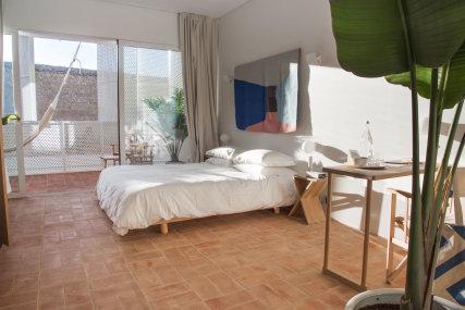 Casa Mãe Lagos Deluxe Room - Bed