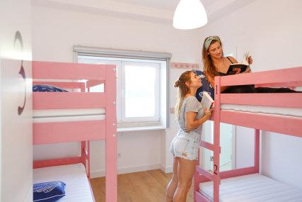 Pink dorm