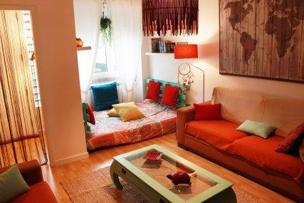 Nesha Surfhouse Lisbon Common Areas - Living room