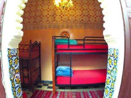 9 beds mixed dorm