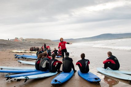 Ireland  Learn the basics on the beach before you hit the waves