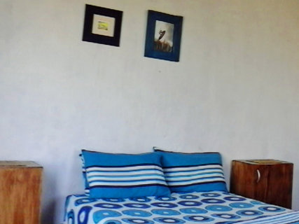 Double room with double bed and awesome sea, beach and river views.