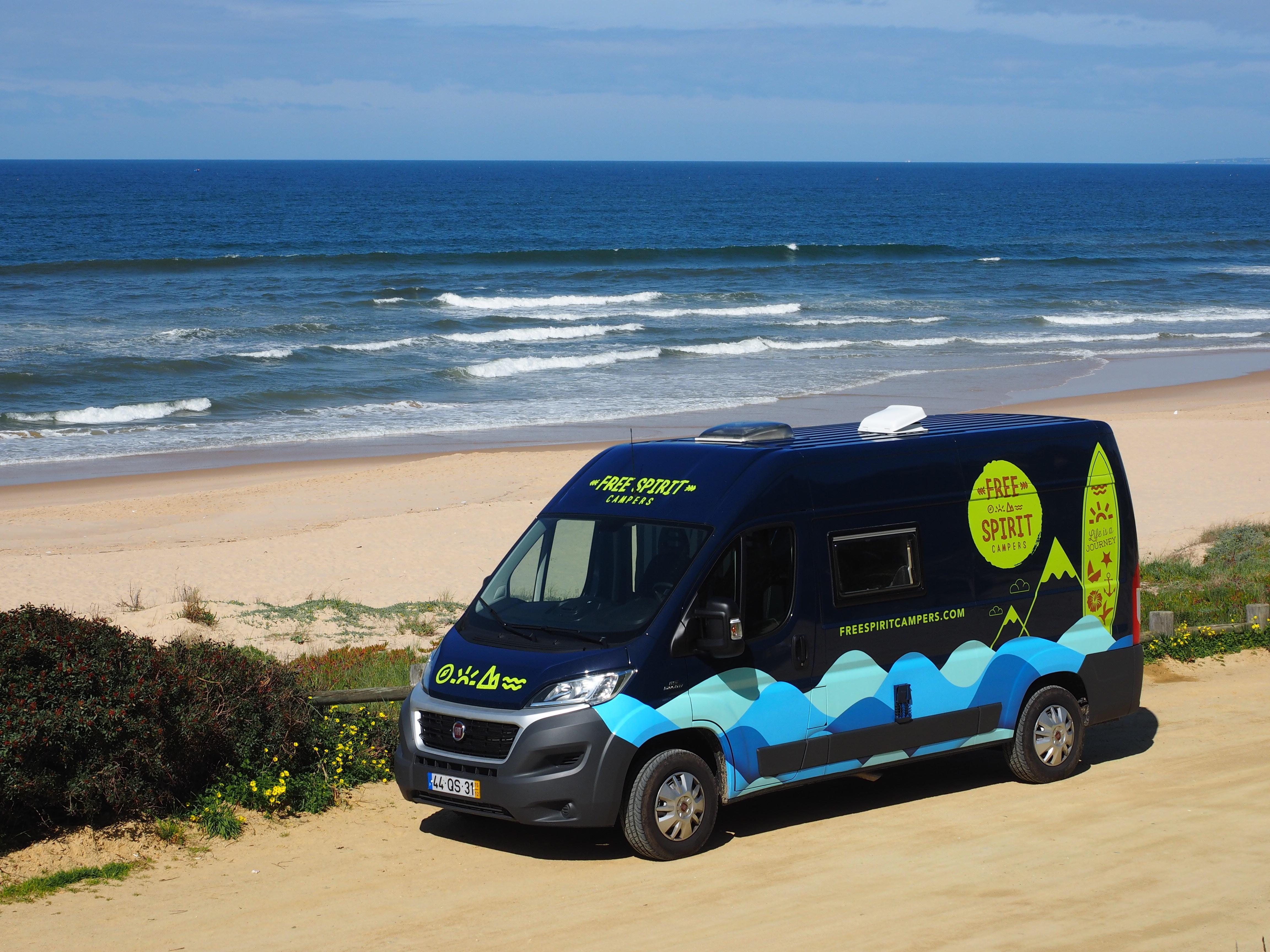 83a22dd50b Surfholidays.com  Perfect Road trip - Fiat Ducato Campervan for 4 to ...