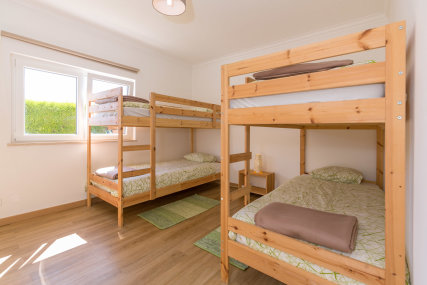 Dorm room - bunk beds