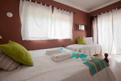 Terra Cotta: double bed room