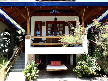 The outside view of one of our bungalows