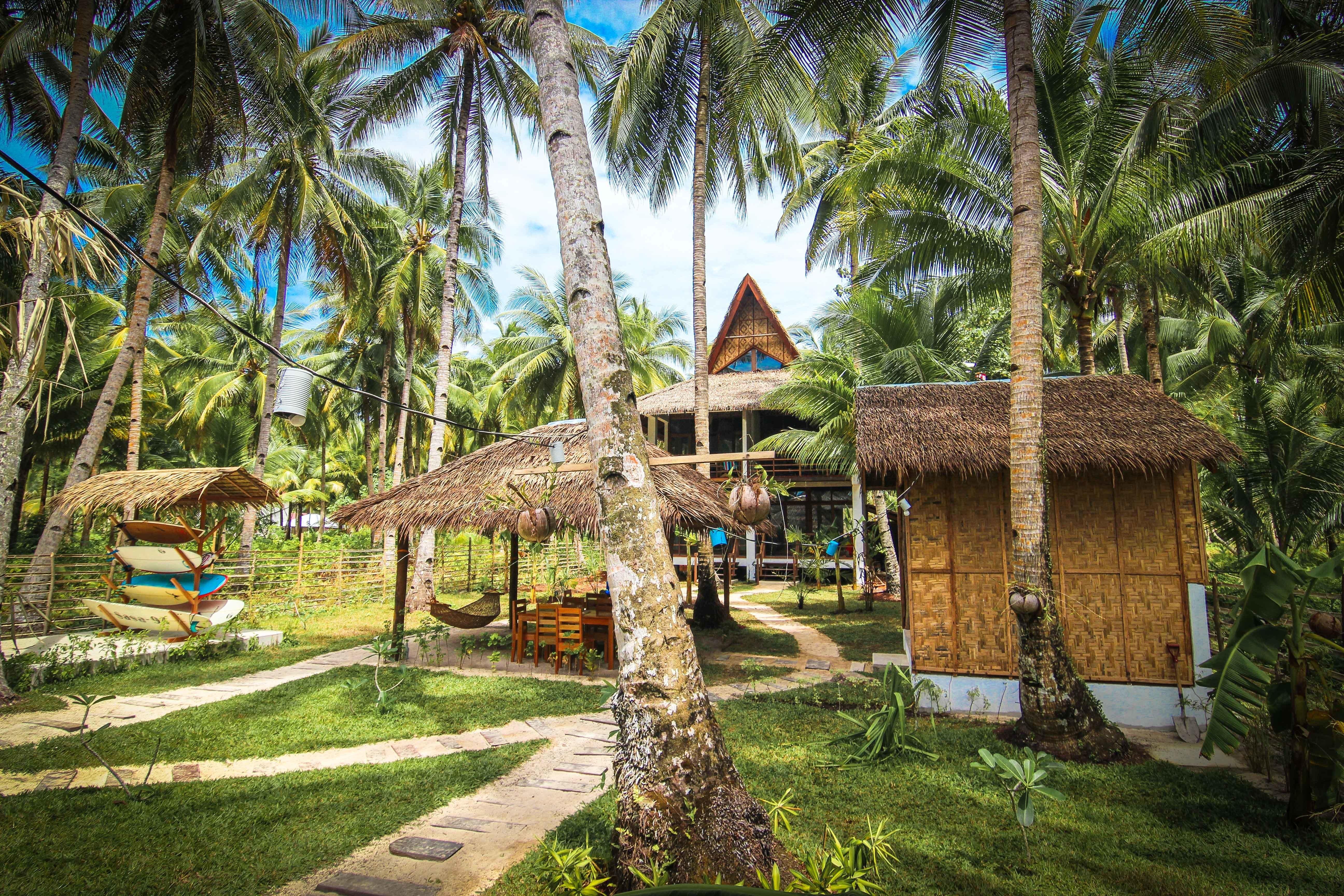 surfholidays com surfing carabao beach houses siargao