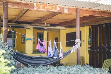 The Driftwood deck