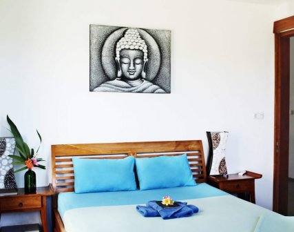 Our standard double bedroom is waitning for you!