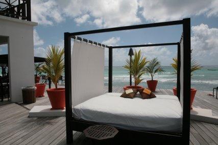 Silver Point Hotel  Beach Deck